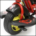 PUKY 三輪車用  フットレスト