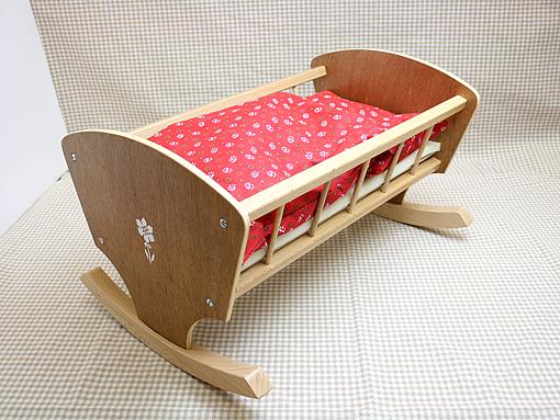 お人形用 家具 ベッド ロッキングベッド 40cm