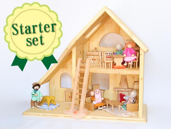 人形の家2階建(小)【スターターセット】