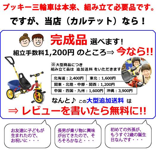 【レビューで送料無料】ドイツ製プッキー(PUKY)三輪車《おしゃれ》【皇室御用達】CAT1プレミアム【完成品】