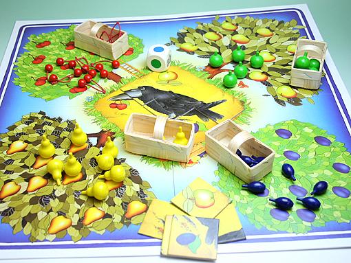 HABA 果樹園ゲーム|ハバ社(ドイツ)