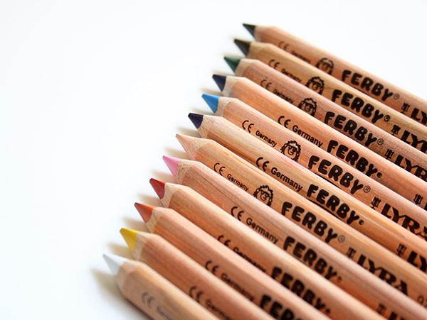 ファルビー(FERBY)色鉛筆
