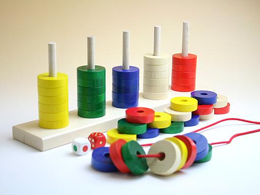 木のおもちゃ プラステン 今なら 遊び方リーフレット付|ニック社(ドイツ)