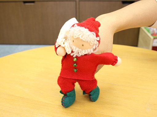 てくてく人形サンタ