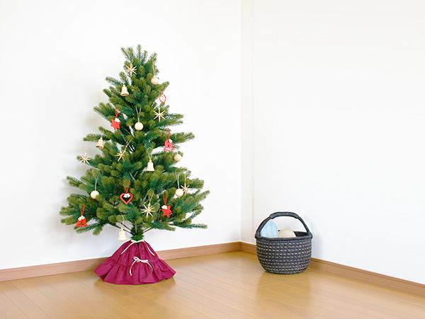 クリスマスツリー足元カバー『ツリースカート』当店オリジナル
