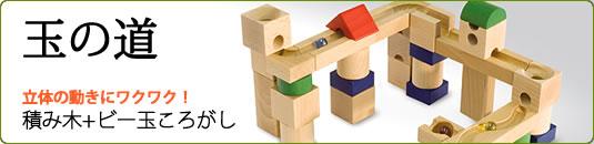 ピタゴラスイッチみたいで面白い!積木×ビー玉=玉の道
