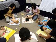 藤田紀子ベビーマッサージ教室