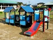 遊びこむ園庭、保育室に欠かせない大型遊具のプランニング、施工