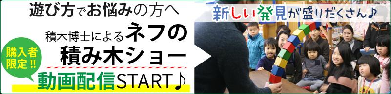 積木ショー動画バナー
